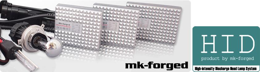 MK-FORGEDのHIDは安心の3年保証付きです。